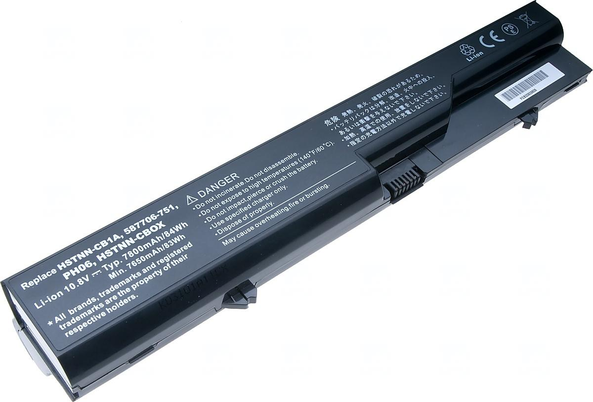 T6 POWER Baterie T6 power HP ProBook 4320s, 4420s, 4520s, HP 320, 325, 420, 620, 625, 9cell (NBHP0088)