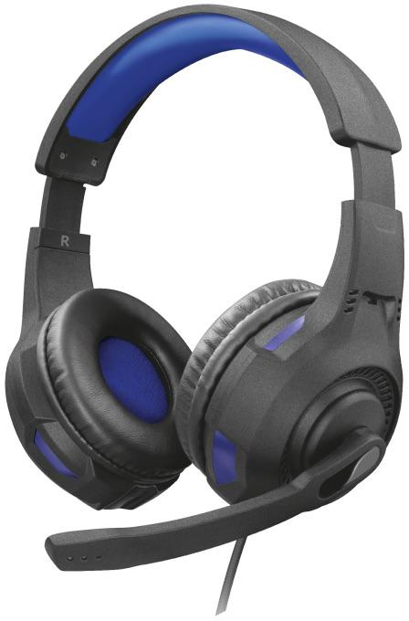 Fotografie TRUST GXT 307B Ravu Gaming Headset for PS4 - camo blue (23250)