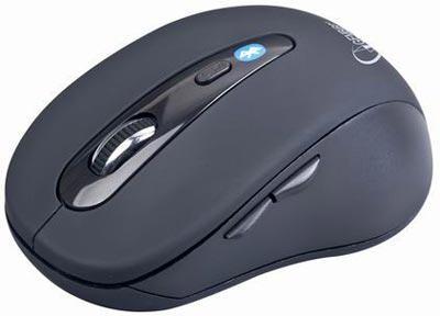 GEMBIRD myš MUSWB2 Bluetooth, USB, černá (MUSWB2)
