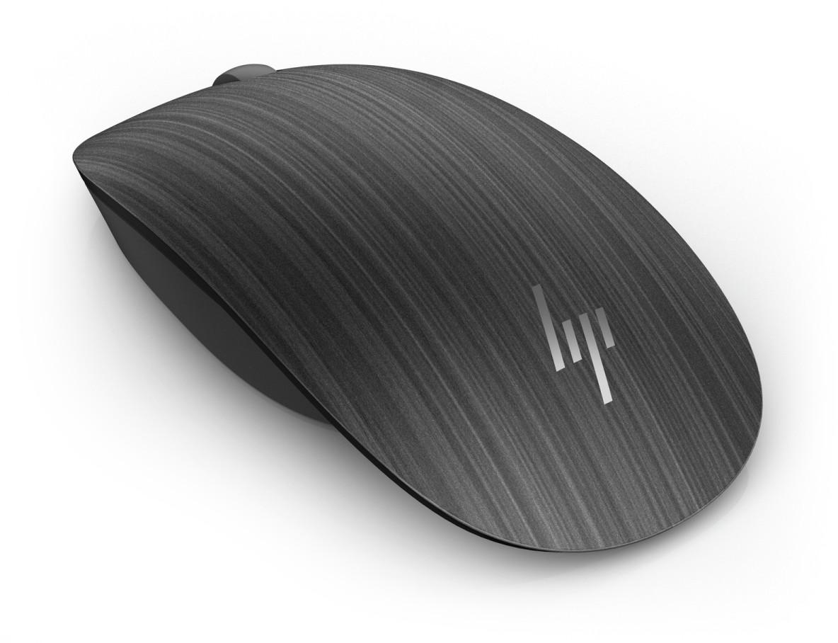 HP Spectre Bluetooth Mouse 500 (Dark Ash Wood) (1AM57AA)
