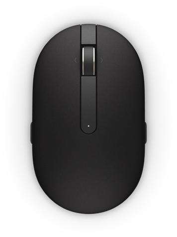 DELL myš, laserová WM326, bezdrátová, černá (570-AAMI)