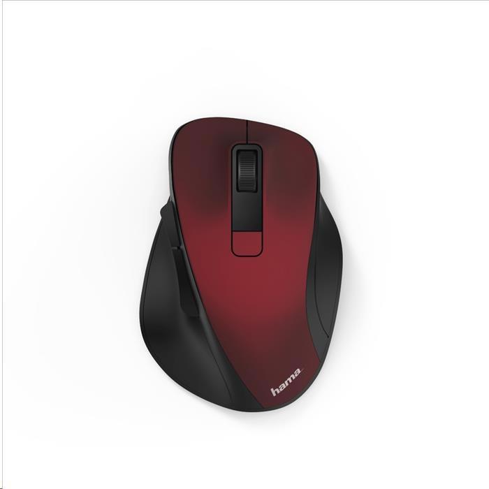 Hama bezdrátová optická myš MW 500, červená (182634)
