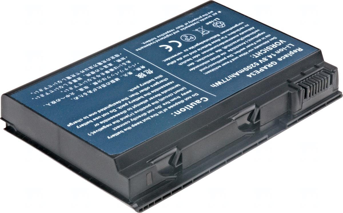 T6 POWER Baterie T6 power Acer TravelMate 5220, 5230, 7520, 7720, Extensa 5210, 5220, 5610, 8cell (NBAC0046)