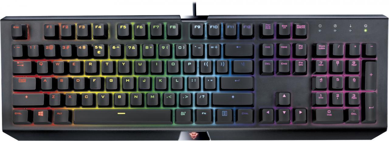 TRUST kláv. TRUST GXT 890 Cada RGB Mechanical Keyboard (21808)