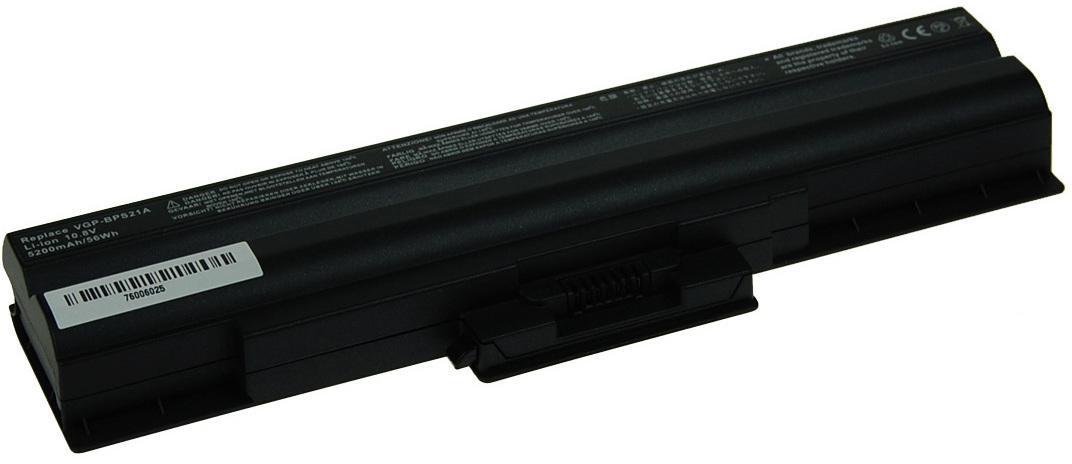 AVACOM Baterie AVACOM NOSO-21BN-806 pro Sony Vaio VPCS series, VGP-BPS21 Li-ion 10,8V 5200mAh/56Wh (NOSO-21BN-806)