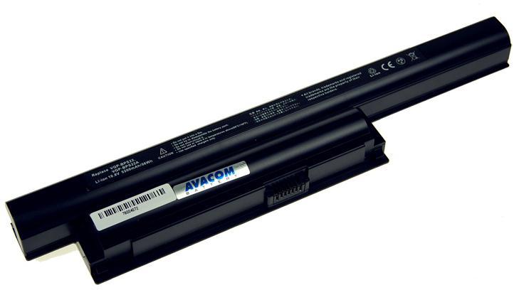 AVACOM Baterie AVACOM NOSO-22BN-806 pro Sony Vaio EA/EB/EC series, VGP-BPS22 Li-ion 10,8V 5200mAh (NOSO-22BN-806)