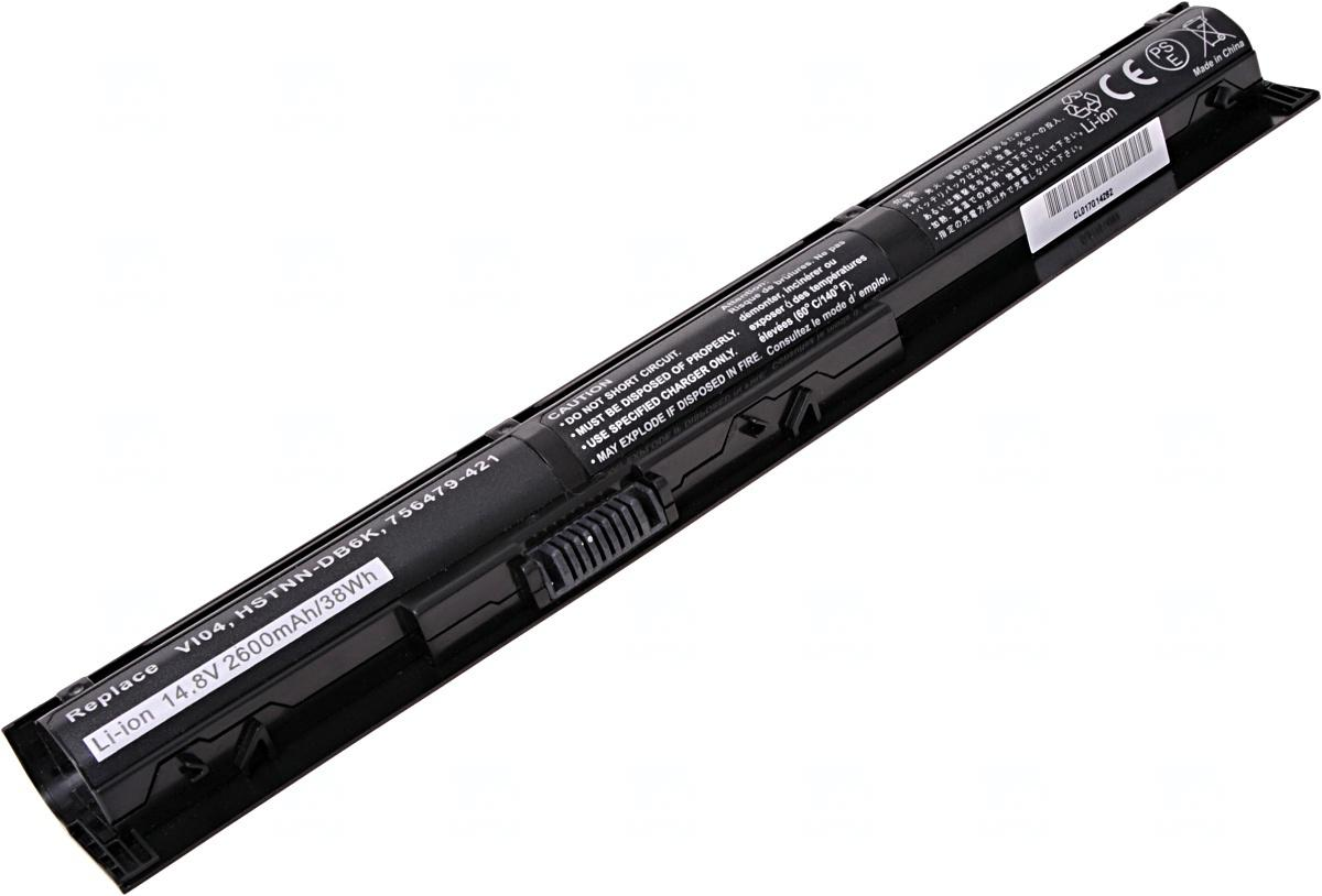 T6 POWER Baterie T6 power HP ProBook 440 G2, 445 G2, 450 G2, 455 G2, VI04XL, 4cell, 2600mAh (NBHP0104)