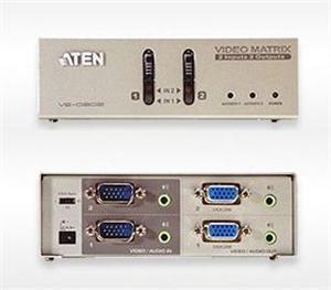 ATEN Matrix video switch, 2x PC - 2x monitor (VS-0202)