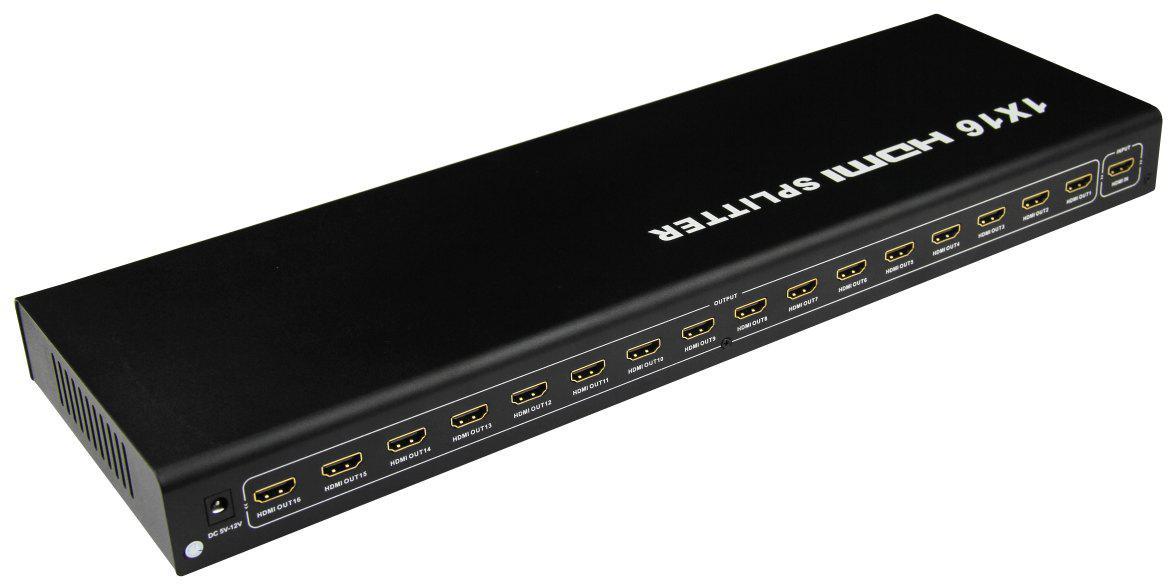 ATEN HDMI splitter 1-16 Port kovový, 3D, FullHD (khsplit16b)