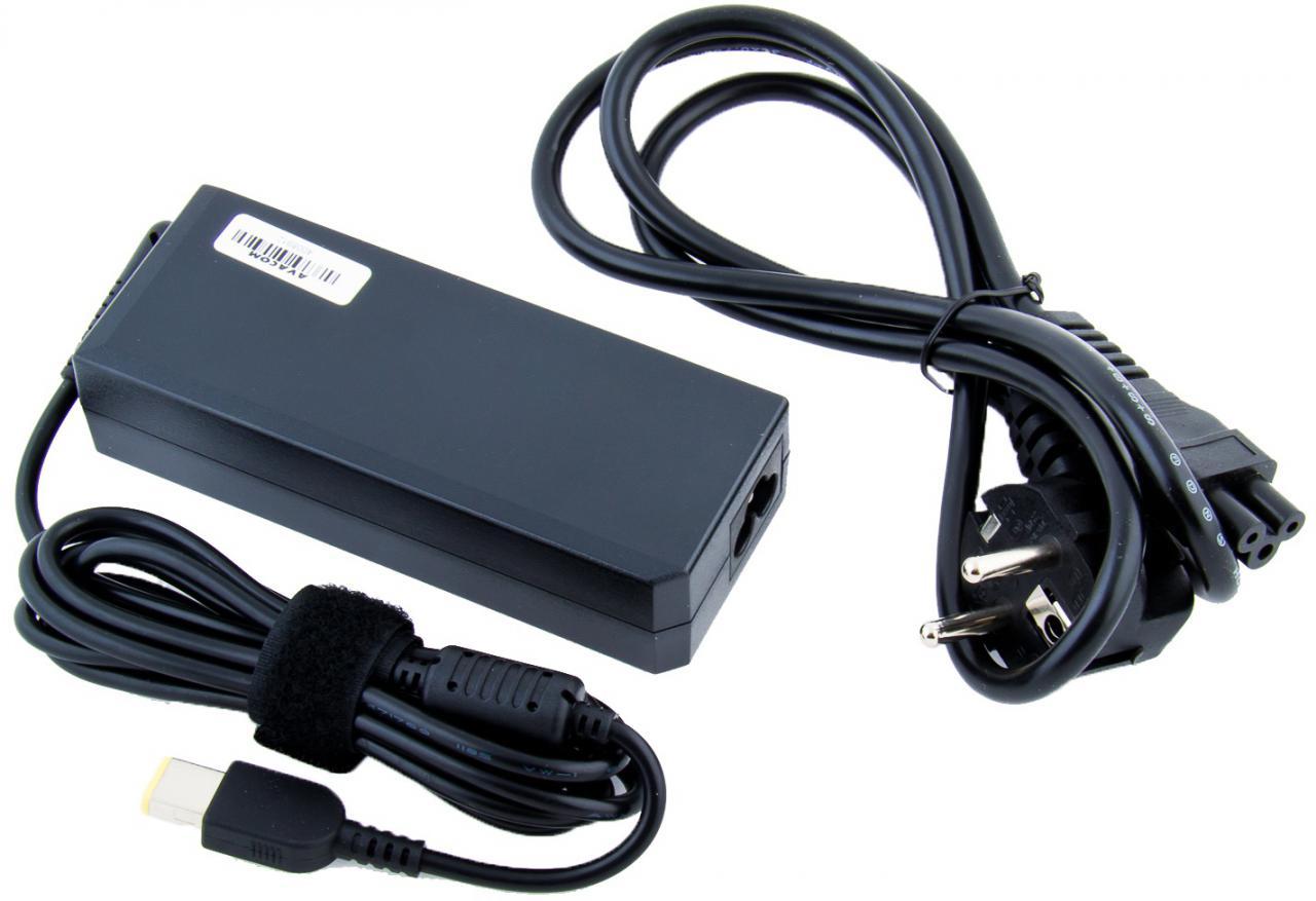 AVACOM Nabíjecí adaptér AVACOM pro notebook IBM/Lenovo 20V 4,5A 90W hranatý konektor (ADAC-Leno-90WSY)