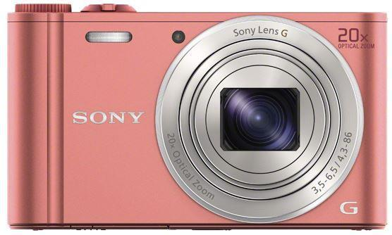 SONY DSC-WX350 růžová, 18,2Mpix,20xOZ,fullHD,WiFi (DSCWX350P.CE3)
