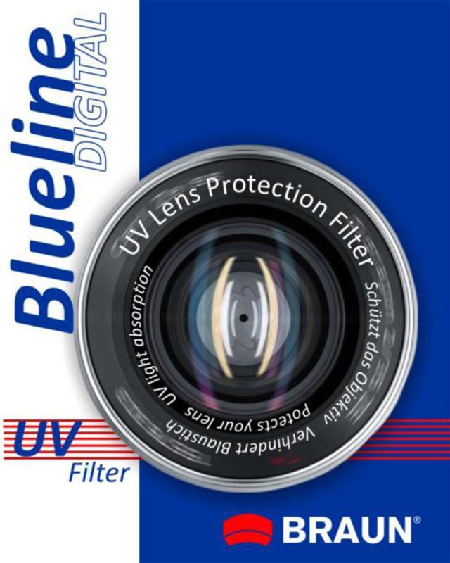 BRAUN PHOTOTECHNIK BRAUN UV filtr BlueLine - 43mm (14152)