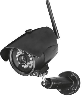 Fotografie TRUST Outdoor WiFi IP camera with night vision (71183)