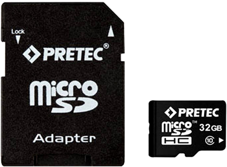 Fotografie PRETEC MicroSDHC 32 GB CLASS 10 + SD adaptér (PC10MC32G)