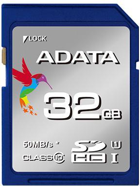 Fotografie ADATA SDHC 32GB UHS-I Premier,Class 10 (ASDH32GUICL10-R)