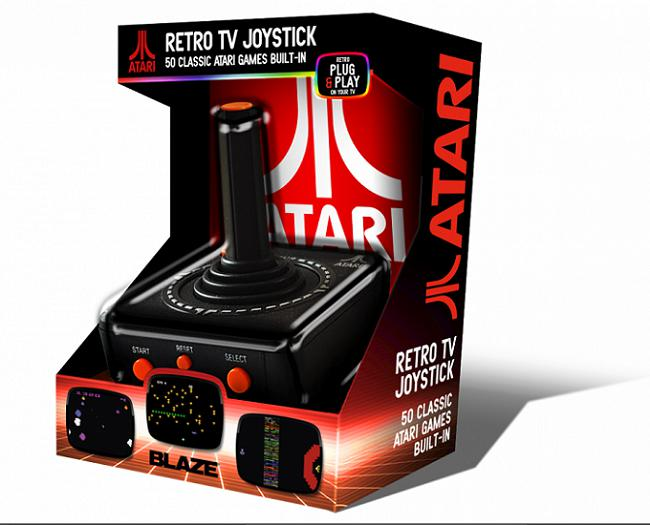 Atari 'Retro' TV Plug and Play Joystick (5060201658009)
