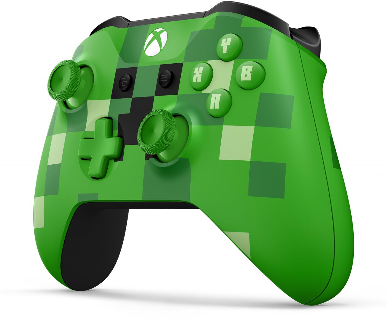 MICROSOFT XBOX ONE - Bezdrátový ovladač Xbox One Minecraft Creeper (WL3-00057)
