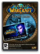 BLIZZARD PC CD - World of Warcraft Game Card (3348542196933)