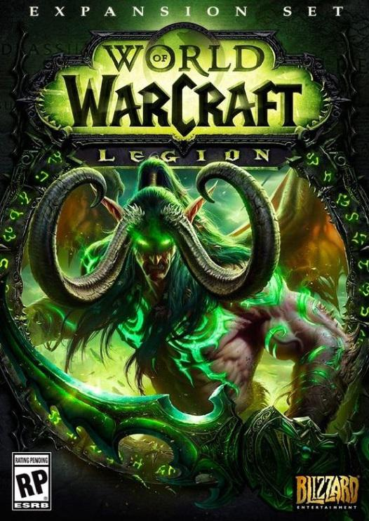 BLIZZARD PC CD - World of Warcraft: Legion (5030917189623)