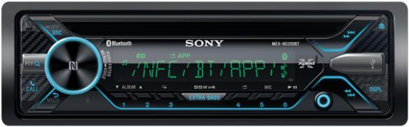 SONY autorádio MEX-N5200BT CD/NFC/BT (MEXN5200BT.EUR)