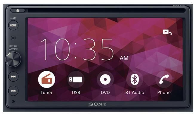 """SONY DVD přehrávač XAV-AX200 s 6,4"""" s BT (XAVAX200.EUR)"""