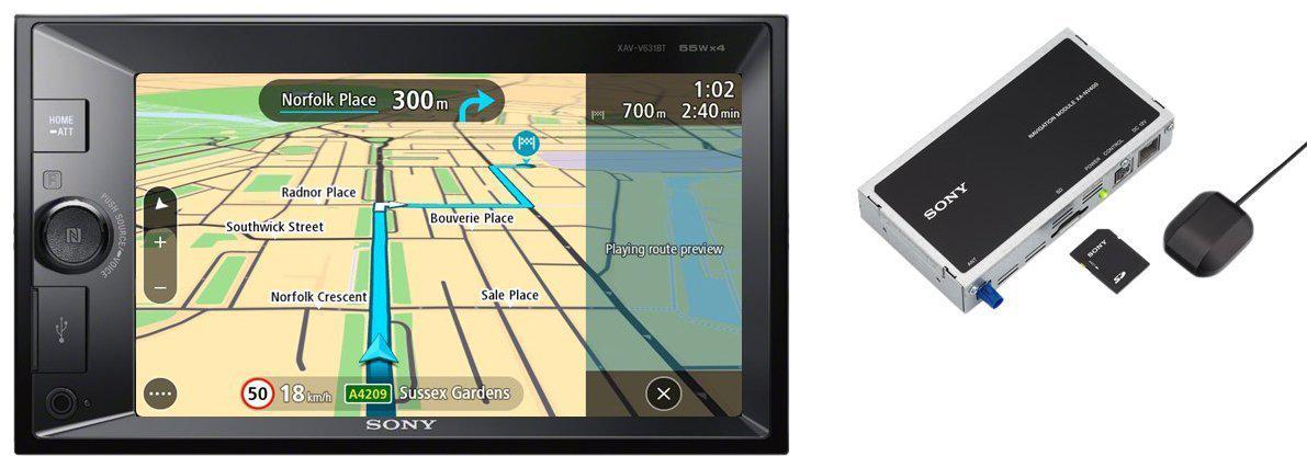 SONY autorádio XNV-KIT100 dot. display BT s nav. (XNVKIT100.EUR)