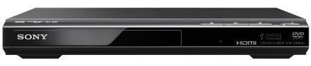 SONY DVD přehrávač DVPSR760H černý (DVPSR760HB.EC1)