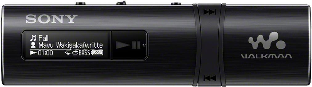 SONY MP3 přehrávač 4GB NWZ-B183 černý (NWZB183B.CEW)