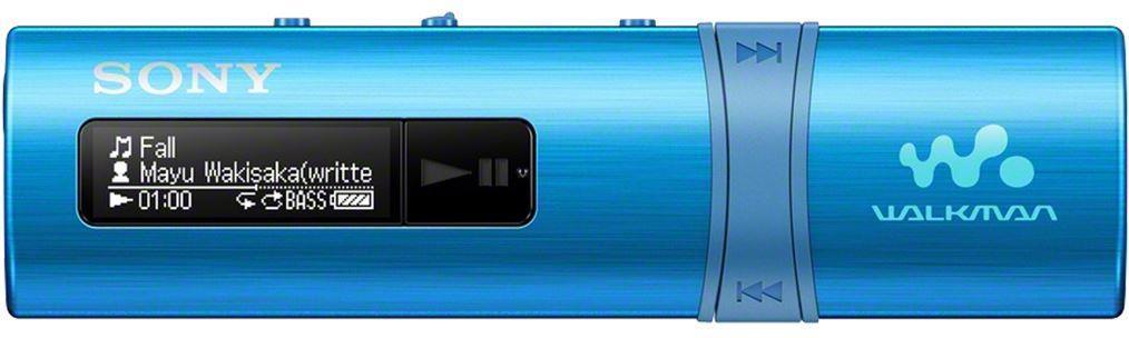 SONY MP3 přehrávač 4GB NWZ-B183F, FM rádio,modrý (NWZB183FL.CEW)