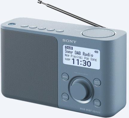 SONY rádio XDRS61DL.EU8 přenosné, modrá (XDRS61DL.EU8)