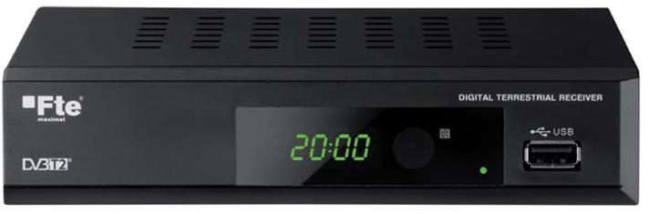 AB COM Set-box FTE MAX T200HD DVB-T2 kodek H.265 HEVC (FTE MAX T200HD)