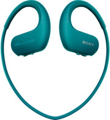 SONY MP3 přehrávač 4 GB NW-WS413 modrý, voděod. (NWWS413L.CEW)