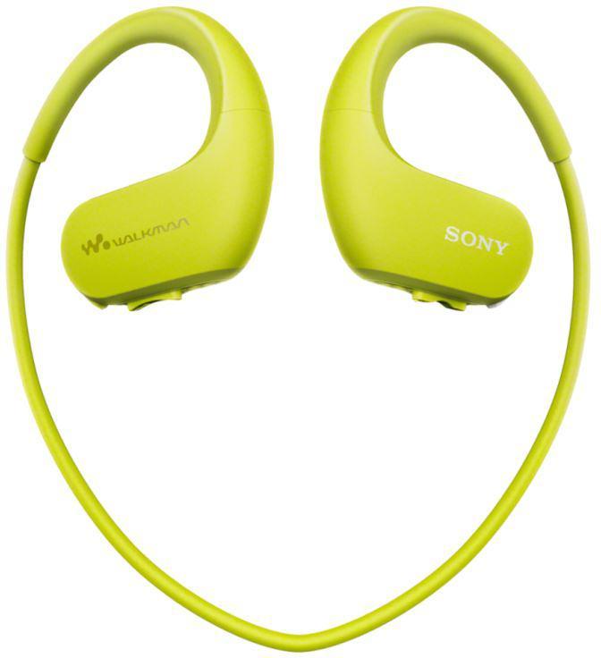SONY MP3 přehrávač 4 GB NW-WS413 zelený, voděod. (NWWS413G.CEW)
