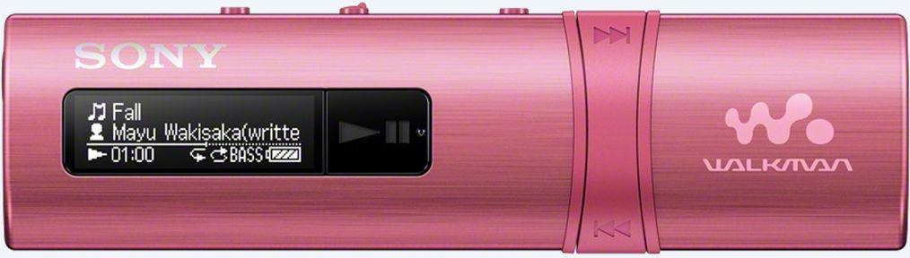 SONY MP3 přehrávač 4GB NWZ-B183 růžový (NWZB183P.CEW)
