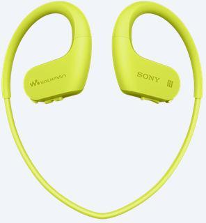 SONY MP3 přehrávač 4 GB NW-WS623 limetkový,voděod. (NWWS623G.CEW)