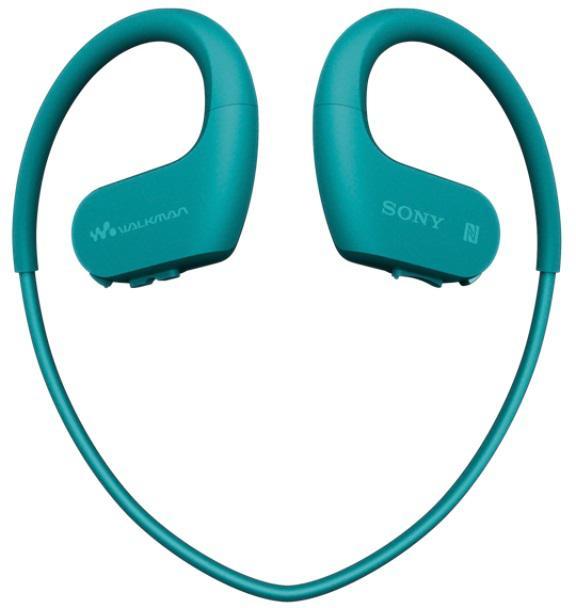 SONY MP3 přehrávač 4 GB NW-WS623 modrý, voděod. (NWWS623L.CEW)