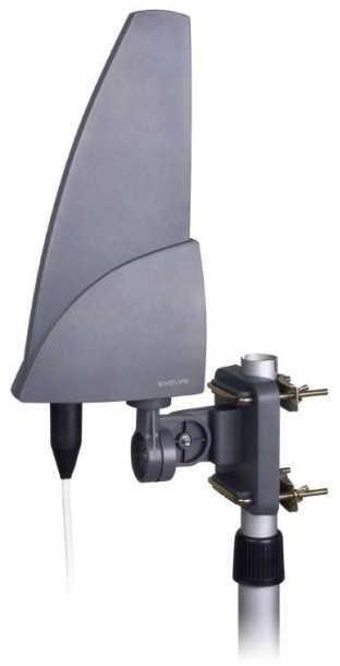 EVOLVEO Shark 35dB, aktivní venkovní anténa DVB-T/T2 (SHARK01)