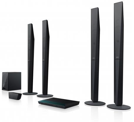 SONY Blu-Ray domácí kino BDV-E6100,1000W,3D,5.1 (BDVE6100.CEL)