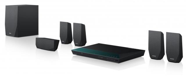 SONY Blu-Ray domácí kino BDV-E2100,1000W,3D,5.1 (BDVE2100.CEL)