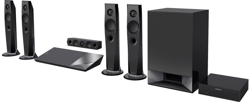 SONY Blu-Ray domácí kino BDV-N7200W,1200W,5.1k, 4K (BDVN7200WB.CEL)