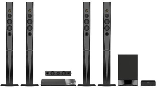 SONY Blu-Ray domácí kino BDV-N9200W,1200W,5.1,čern (BDVN9200WB.CEL)