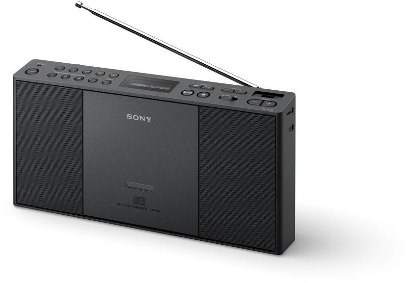 SONY mp3/CD/Radio přehrávač ZS-PE60,USB,černý (ZSPE60B.CET)
