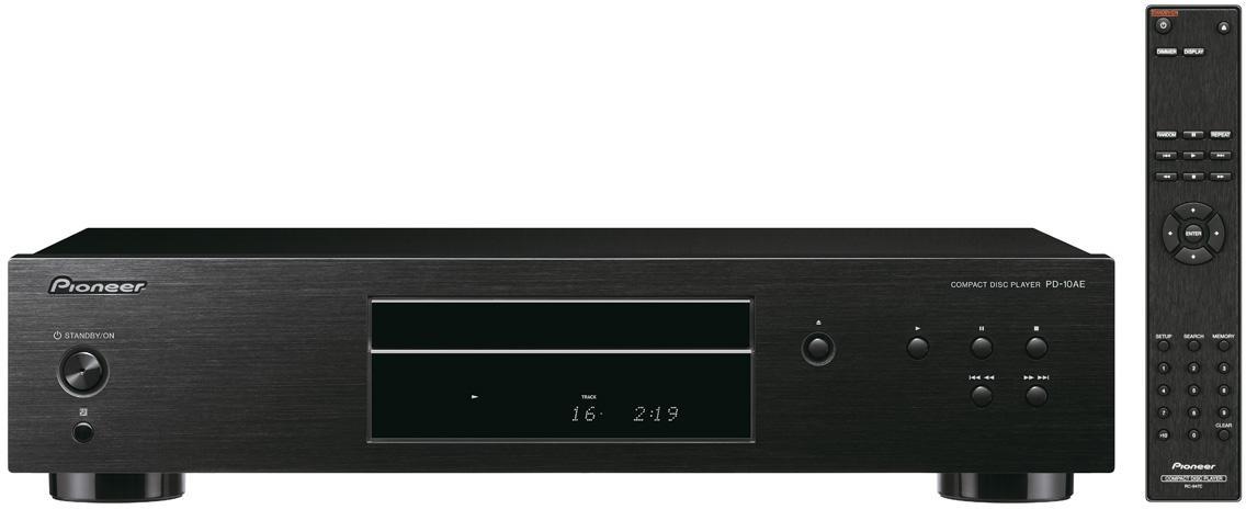 PIONEER audio CD přehrávač černý (PD-10AE-B)