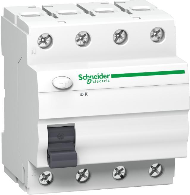 Schneider Electric Chránič proudový 4P 40A 30mA AC iIDK Acti9 (A9Z05440)