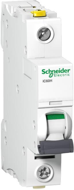 Schneider Electric Jistič 1p B 16A 10kA iC60H Acti9 (A9F06116)