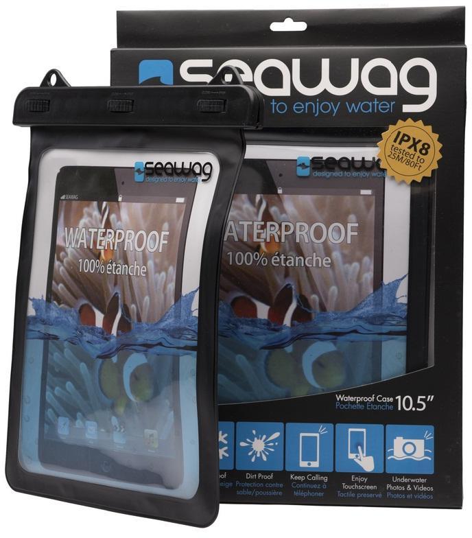 """SEAWAG Voděodolné pouzdro pro tablet 10.5"""" černé (SEAWAG_TABX)"""