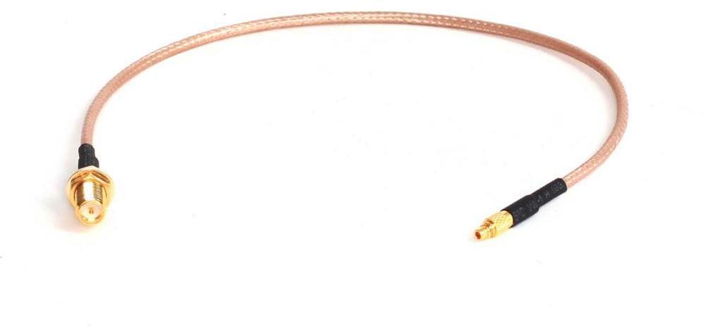MAXLINK pigtail 25cm RG316 MMCX přímý - RSMA female (pin) (MMCXS-RSF)