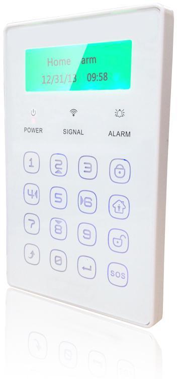 IGET SECURITY P13 - externí bezdrátová klávesnice s LCD displejem pro alarm M2B (SECURITY P13)