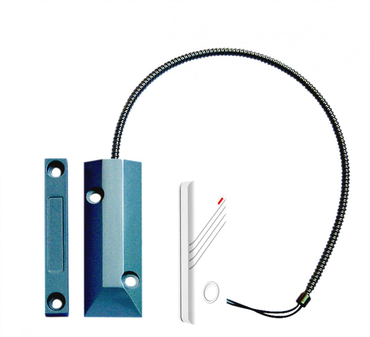 Fotografie iGET SECURITY P21 - bezdr. magnetický detektor pro železné vrata/dveře/okna (75020221)