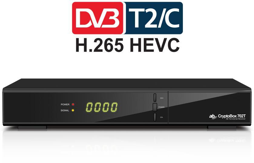 AB COM AB CryptoBox 702T HD (AB CR 702T HD)